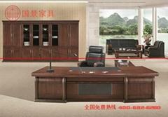 廣東廠家直銷優質老闆辦公桌