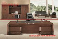 广东厂家直销中式实木办公桌