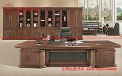 广东厂家直销实木经理办公桌