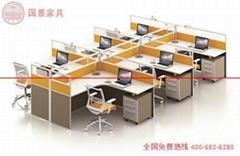 广东厂家直销六人位屏风组合