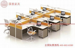 廣東廠家直銷六人位屏風組合