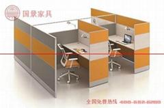 广东厂家直销五人位屏风组合