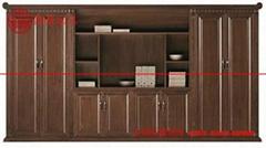 国景M5J08K实木文件柜