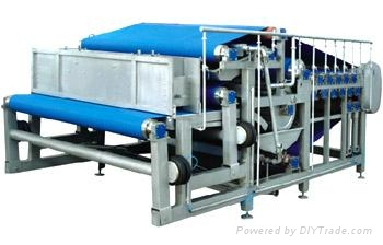 Belt type juice extractor  1