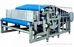 Belt type juice extractor