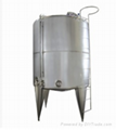 Food grade stainless steel tanks