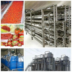 Tomato paste production