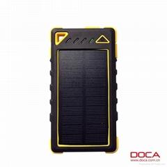 DOCA Newest design solar power bank