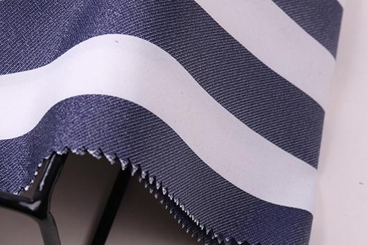 柯橋2017冬季條紋提花布紡女裝面料F06253 1