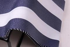 柯桥2017冬季条纹提花布纺女装面料F06253
