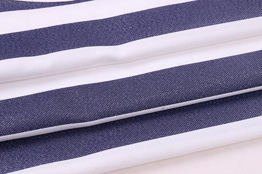 柯橋2017冬季條紋提花布紡女裝面料F06253 3