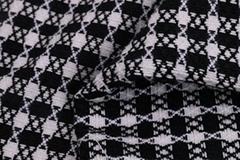廣州新品服飾格子面料F06258定製