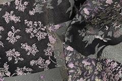 北京时尚新款女装金线面料F06276