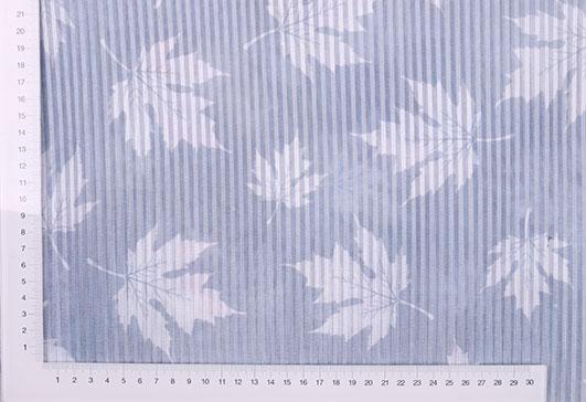 紹興精品潮流條紋印花提花面料F06241 2