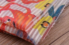 北京潮流时尚条纹印花面料F06246布纺供应