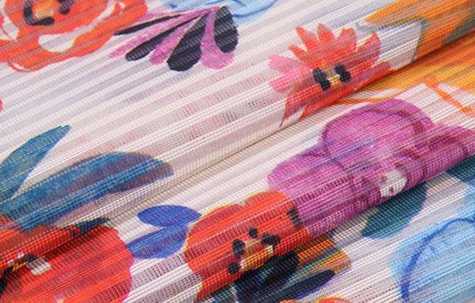 北京潮流时尚条纹印花面料F06246布纺供应 3