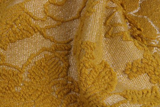 北京潮流時尚精品羊毛提花服飾面料F06265供應 1