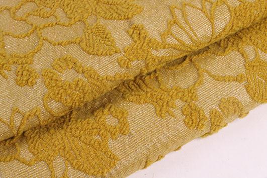 北京潮流時尚精品羊毛提花服飾面料F06265供應 3