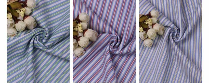 襄陽潮流時尚精品條紋提花服飾面料60929-45供應 1