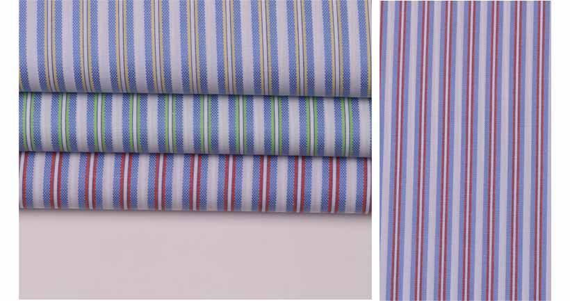襄陽潮流時尚精品條紋提花服飾面料60929-45供應 3