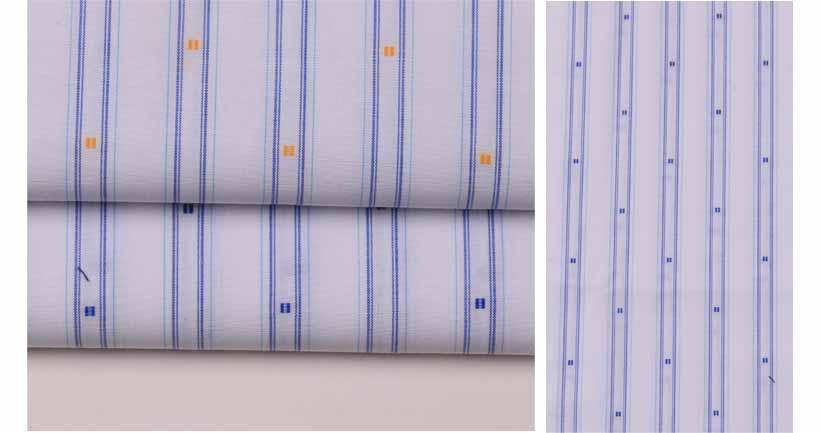 南充潮流時尚精品條紋提花服飾面料60929-51供應 2