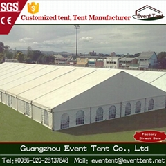 500 people Heavy duty PVC white small wedding marquee party tent gazebo tent fo