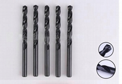 HIGH QUALITY DIN 338 FULLY GROUND HSS 4341 DRILL BITS BLACK FINISHED