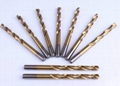 DIN 338 FULLY GROUND HSS M2 MATERIAL DRILL BITS TIN COATED FOR DRILLING METAL 1