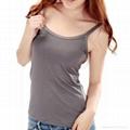 Women's cotton spandex blank camisole