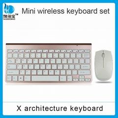 无线迷你键盘鼠标套装 智能电视多媒体无线键鼠