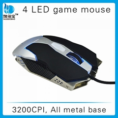 weighted gaming mouse gaming custom usb optical gaming mouse