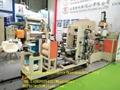 JDL-100 Single screw rubber damping sheet extruder production line