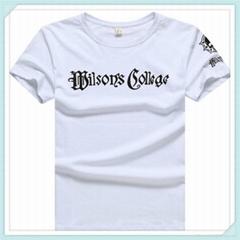 厂家加工定制圆领短袖T恤