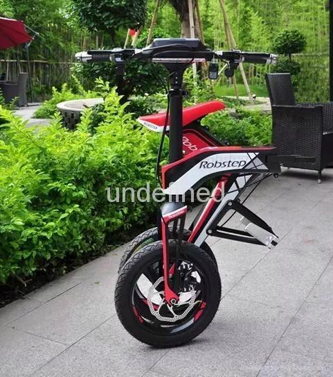易步智能电动折叠自行车X1 3
