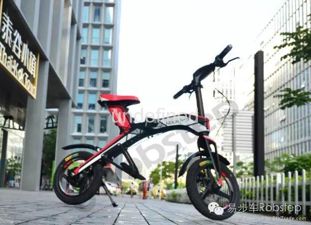 易步智能电动折叠自行车X1 1