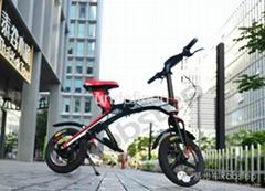 易步智能电动折叠自行车X1