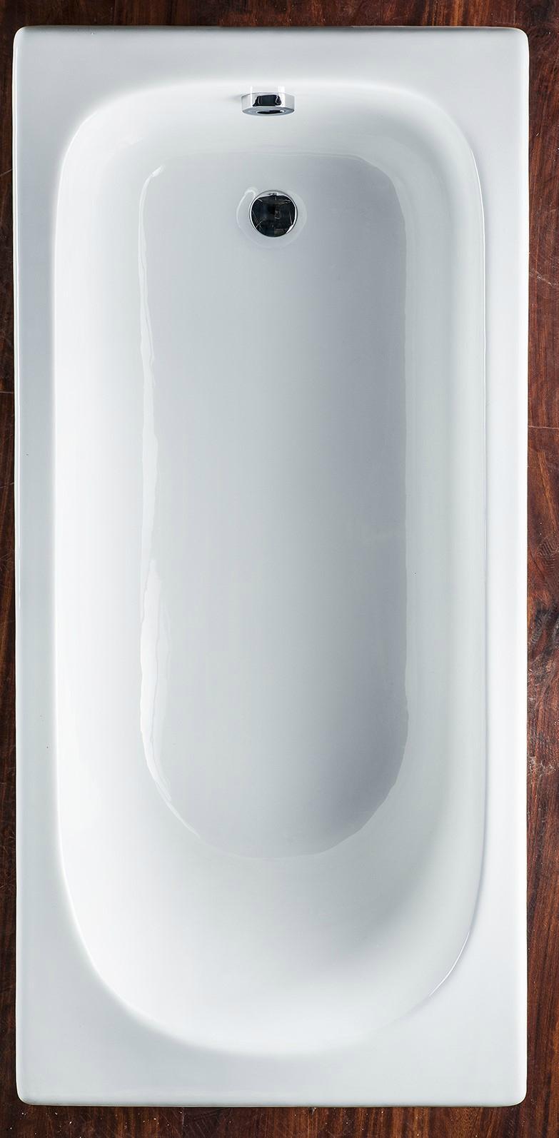 Simple Drop-in Commen Soaking Cast Iron Bathtub 2
