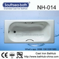 With handle Built-in Cast Iron Bathroom