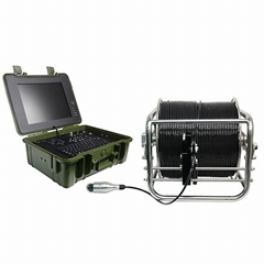 Pan-Tilt Camera System for Underwater Inspection Detector