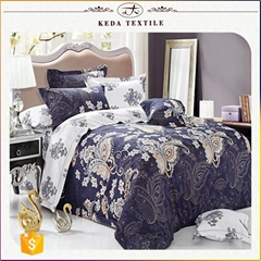 China textile nantong bedding set home container king size 4 pcs duvet cover 100