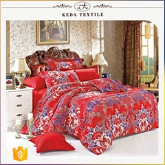 100% polyester 110gsm imitation jacquard wholesale Chinese bedroom cover