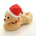 Christmas  santa father fridge magnet plush toy 2