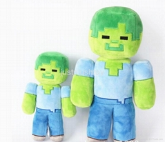 promotional high quality Minecraft Plush