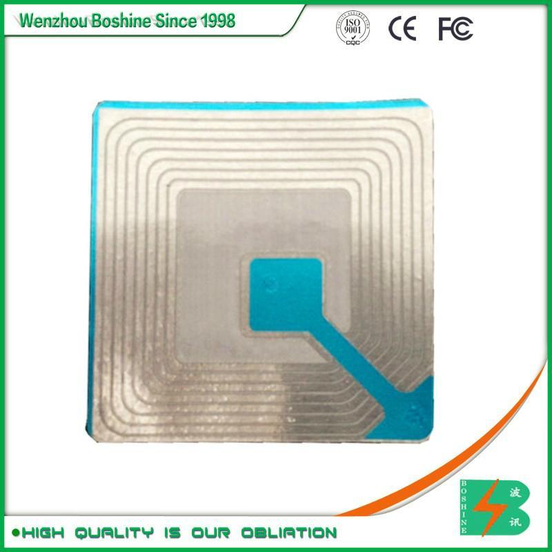 RF label 4*4CM Barcode EAS RF Soft Label RF soft tag for retail security sensor 3
