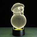 New Design Frozen Princess Shape 3D Night Light Amazing ...