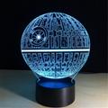 Luminarias Lamp Star Wars 3D  Visual Night Lights Table lamp 3