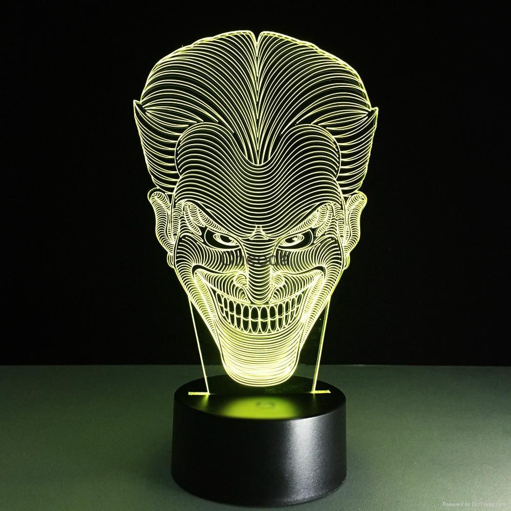 Luminarias Lamp Star Wars 3D  Visual Night Lights Table lamp 4