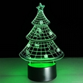 ABS Base Acrylic Plate Material and Switch Power Generation Magic Christmas Tree