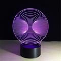 Wholesale Amazing 3d Illusion Light Lamp 3d Mini LED Light Night Decorative  4