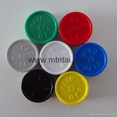 20mm flip off caps for pharma use
